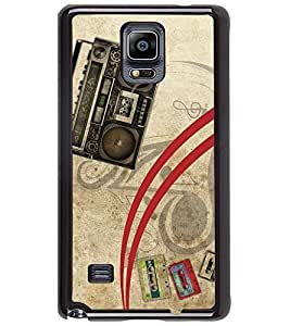 PRINTSWAG TAPE RECORDER Designer Back Cover Case for SAMSUNG GALAXY NOTE 4