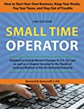 img - for Small Time Operator: How to Start Your Own Business, Keep Your Books, Pay Your Taxes, and Stay Out of Trouble book / textbook / text book