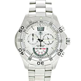 TAG Heuer Men s CAF101B BA0821 Aquaracer Grande Date Chronograph Watch