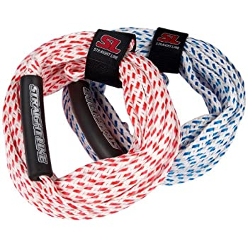 Straight Line Corde d'escalade 2 personnes Rouge