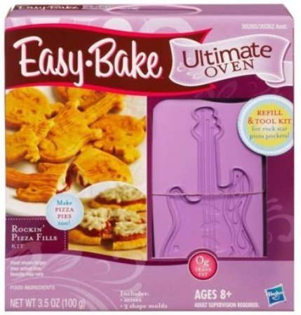 Easy Bake Ultimate Oven Refill And Tool Kit - Rockin Pizza Fills (Easy Bake Oven Pizza Mix compare prices)