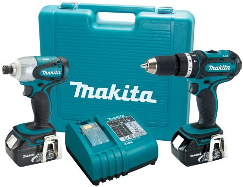 Cordless Combination Kit, 18.0V, 3.0A/hr.