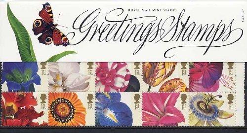 1997-voeux-fleurs-timbres-de-presentation-lot