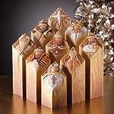 Enesco Pillars Nativity with Story, 10-Inch