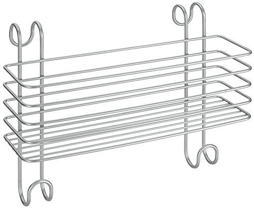 Metaltex Radius - Cesto portaoggetti grande da bagno, adatto per essere appeso al radiatore del bagno, rivestito in Polytherm