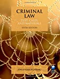 Criminal Law: Text, Cases, and Materials (Blackstone Learning Text, Cases, & Materials)