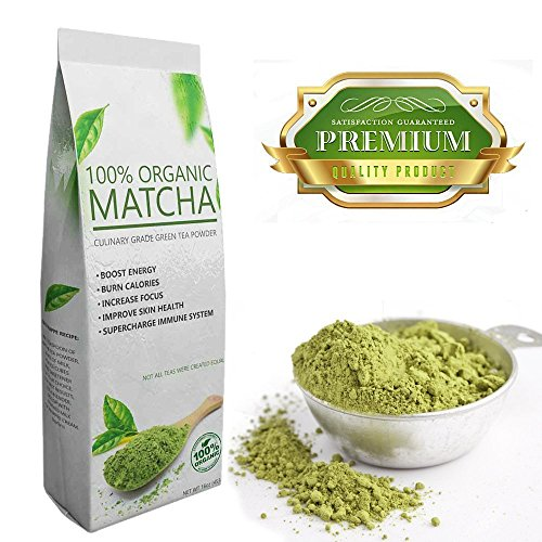 Select Matcha (3 x 16oz) Premium Certified Organic, Pure Matcha Green Tea Powder, Improves Mental Focus, Natural Weight Loss Helper, Great Tasting (Cooks Essentials Ice Cream Maker compare prices)