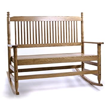 Hardwood Bench with Runners - RTA : Chairs% Benches & Stools