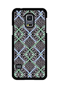 Caseque Multicolor Rich Abstract Pattern Back Shell Case Cover For Samsung Galaxy S5 Mini