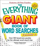 The Everything Giant Book of Word Searches Volume 2( Over 300 Brand-New Puzzles for the Ultimate Word Search Fan)[EVERYTHING GIANT BK OF WORD SE][Paperback]