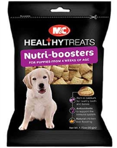 M&C Healthy Treats Nutri-Boosters for Puppies