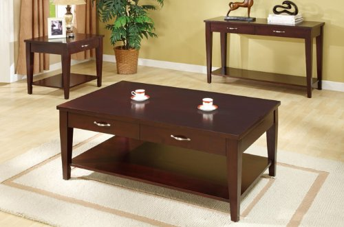 Cheap Beautiful Wooden End Table with Shelf #PD F61191 (f6191)