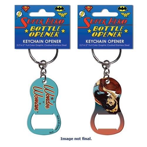DC Comics Bombshells Wonder Woman Key Chain Bottle Opener (Bottle Opener Keychain Women compare prices)