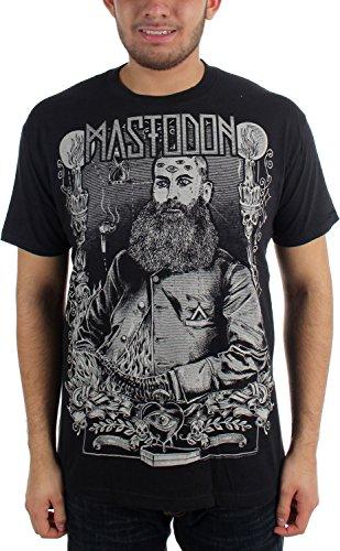 Mastodon, barba, da uomo Slim Fit T-Shirt in nero nero Large