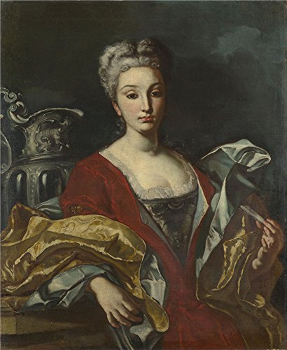 Oil Painting 'Italian Neapolitan Portrait Of A Lady', 18 x 22 inch / 46 x 56 cm , on High Definition HD canvas prints is for Gifts And Basement, Bed Room And Game Room Decoration, toart (Math Drill Express compare prices)