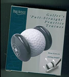 Park Avenue. Golfer's Putt Straight Practice Trainer. Know if You are Putting Straight PA2606BK. 2009. from PARK AVENUE
