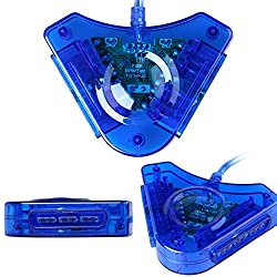 FELEEZ (TM) USB Ps2 To Ps3 Convertor 30 W Adaptor (BLUE)
