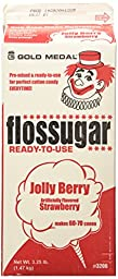 Cotton Candy Sugar Floss-Jolly Berry Strawberry