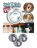 Ontel-SCN-MC12-Stick-'N'-Click-Set-of-3-Peel-and-Stick-LED-Lights