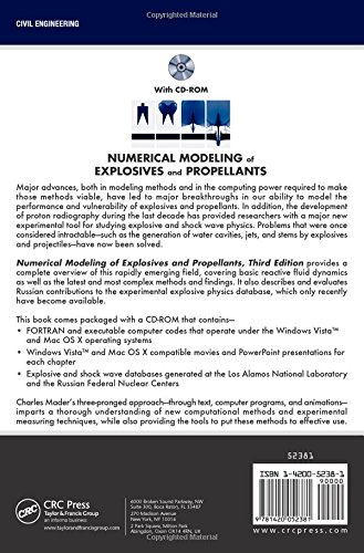 Numerical Modeling of Explosives and Propellants, Third Edition