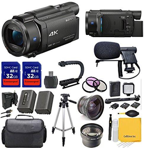 Awardpedia Sony 4k Hd Video Recording Fdrax33 Handycam