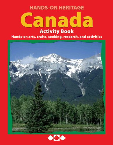 Hands-On HeritageTM Activity Book, Canada - 1