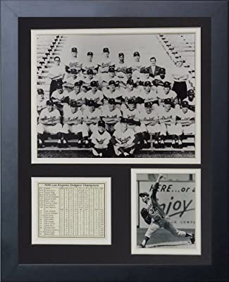 "Legends Never Die ""1959 Los Angeles Dodgers"" Framed Photo Collage, 11 x 14-Inch"