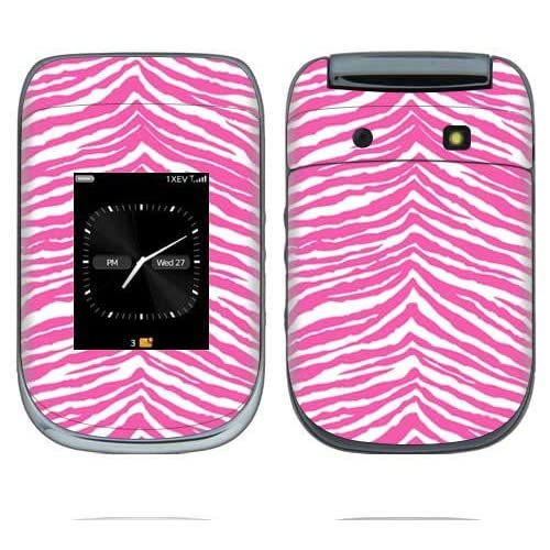 Pink Zebra Decorative Skin Cover Decal Sticker for BlackBerry Style 9670 Cell Phone
