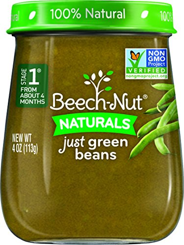 Beech-Nut Stage 1 Baby Food, Green Beans, 4 Ounce (Pack of 10) (Baby Food Stage 1 Beechnut compare prices)