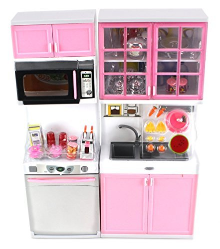 Modern-Kitchen-16-Battery-Operated-Toy-Kitchen-Playset-Perfect-for-Use-with-11-12-Tall-Dolls