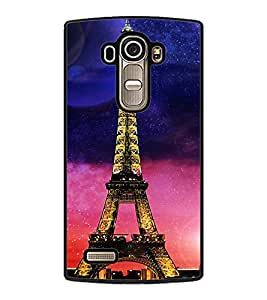 PrintDhaba Tower D-2854 Back Case Cover for LG G4 (Multi-Coloured)