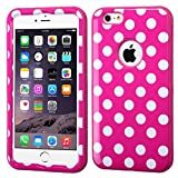 Product B00J4EXWT4 - Product title MyBat iPhone 6 Plus VERGE Hybrid Protector Cover - Retail Packaging - Pink/White