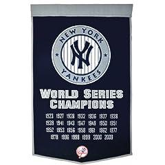 Buy Winning Streak: New York Yankees Dynasty Banner - Includes 2009 on Banner by Winning Streak