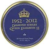 Simpkins Jubilee Mixed Fruit Drop Tins 200 g - Royal Blue (Pack of 6)