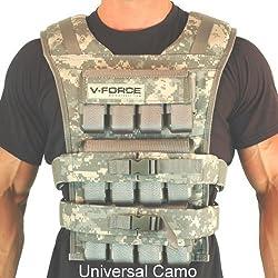 V-Force 60Lbs Adjustable Weighted Vest