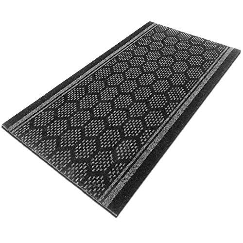tapis de couloir casa pura bilbao gris feutre aiguillet cuisine salon couloir haute. Black Bedroom Furniture Sets. Home Design Ideas