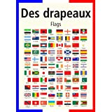 A3 homemade* French poster teaching aid / classroom resources - Flags around the world/Des drapeaux (supplied folded to A4, NOT laminated)by 123 Web Art