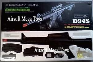Well M16 RIS Electric Airsoft Machine Gun AEG