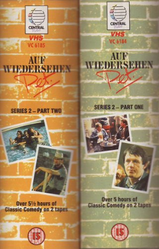 auf wiedersehen pet series 2 vhs dvd boxset. Black Bedroom Furniture Sets. Home Design Ideas
