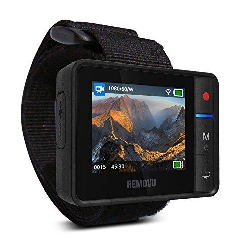 Removu RM-R1 Live View Remote for GoPro HERO3/HERO3+/HERO4 (Black)