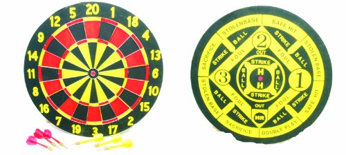 """Classic Games Collection 17"""" Entry Level Dart Board"""