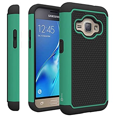 Galaxy Express 3 Case, CoverON® [HexaGuard Series] Slim Hybrid Hard Phone Cover Case for Samsung Galaxy Express 3 from CoverON