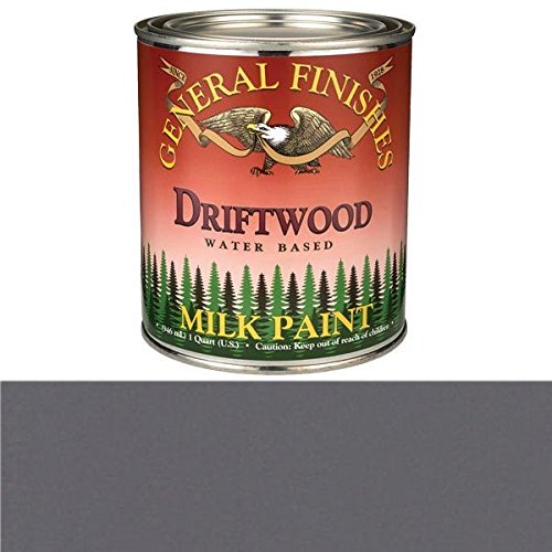 General Finishes QD Milk Paint, 1 quart, Driftwood