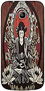 Snoogg Meditating Monkey 2656 Hard Back Case Cover Shield For Samsung Galaxy ...