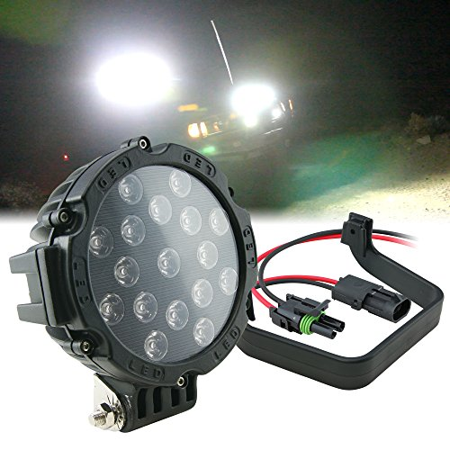 51W Led Off Road Work Light Lamp - Round Spot (Flood Variation Available)