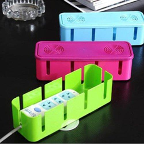 HuaYang Nouveau sortie boîte de rangement/fil boîte de rangement/prise boîte de rangement(vert)