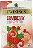 Twinings Fresh and Fruity Cranberry Raspberry and Elderflower 20 Teabags (Pack of 8,Total 160 Teabags)