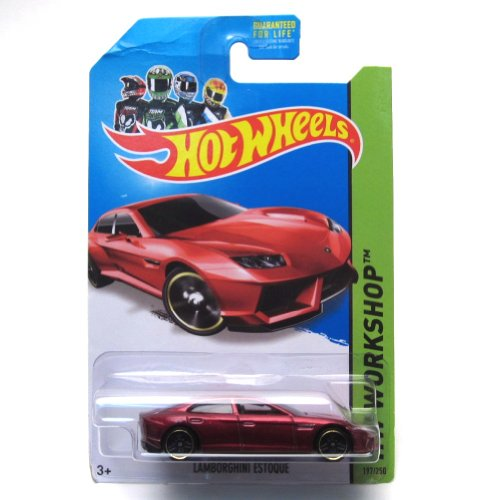Lamborghini Estoque '14 Hot Wheels 197/250 (Red) Vehicle - 1