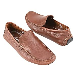 DAVINCHI MENS Slipon | Brown | 8