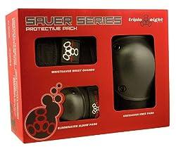 Triple 8 Saver Series Wristsavers/Kneesavers/Elbowsavers by Triple 8